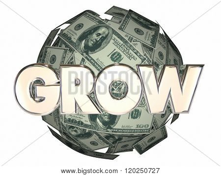 Grow Money Cash Ball Nest Egg More Increase Income