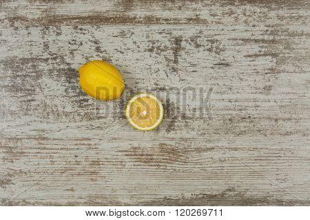 Bavkground with lemons
