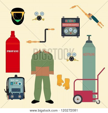 Set Welding Equipment
