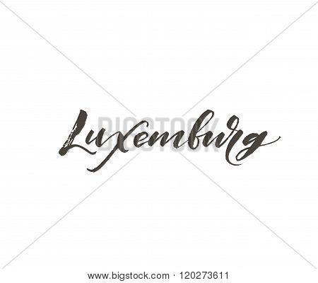 Luxemburg Card.