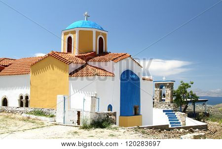 Church Of Our Lady Of Kyparissia On Kos