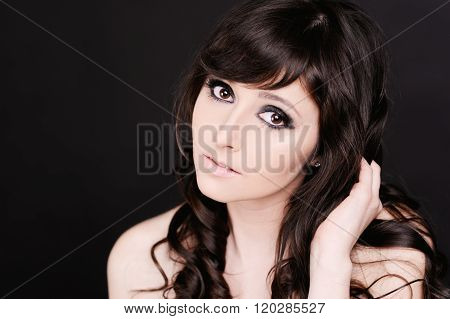 Attractive young girl
