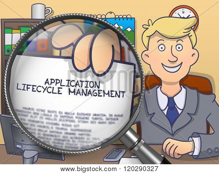 Application Lifecycle Management through Magnifying Glass.