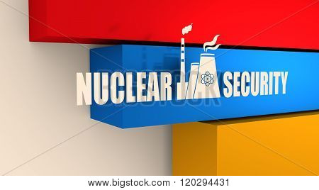 Energy generation atom station and Armenia flag elements
