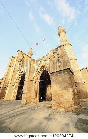 Selimiye Mosque, Former Saint Sofia Church, Nicosia, Cyprus