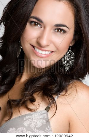 Smiling Beautiful Woman