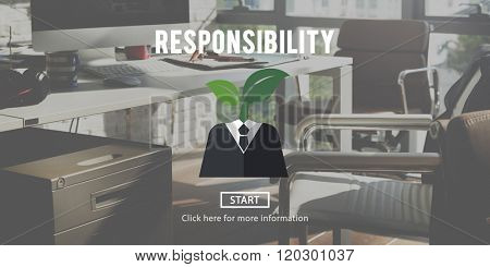 Responsibility Roles Task Obligation Duty Responsible Concept