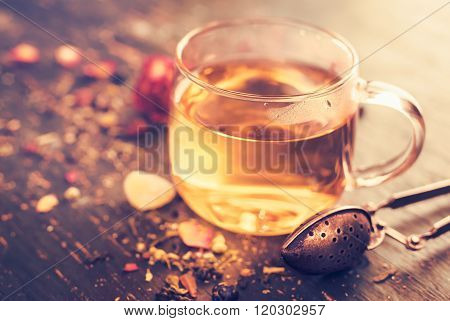 Glass Cup Tea