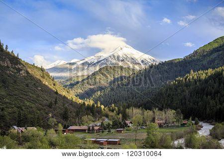 Beautiful Nature Close To Famous Aspen, Colorado
