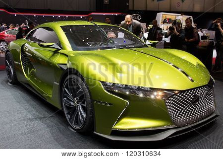 Citroen Ds E-tense Gt Concept Car