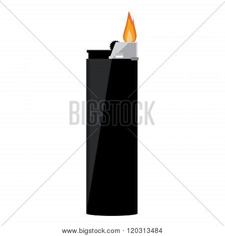 Black Pocket Lighter