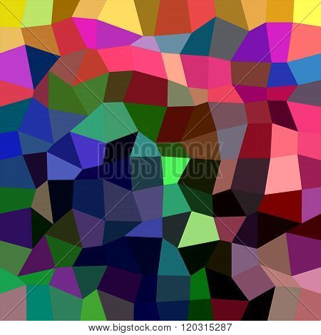Multicolor rectangle mosaic vector background