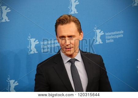 Berlin, Germany - February 18, 2016 - Tom Hiddleston attends the 'The Night Manager' premiere during the 66th Berlinale International Film Festival