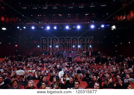 Atmosphere at the 'Hommage For Michael Ballhaus' during the 66th Berlinale International Film Festival Berlin at Berlinale Palace on February 18, 2016 in Berlin, Germany.