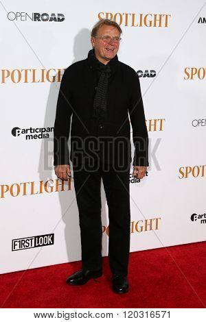 NEW YORK-OCT 27: Actor David Rasche attends the 'Spotlight' New York premiere at Ziegfeld Theatre on October 27, 2015 in New York City.