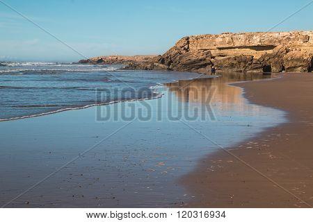 Beach At The Atlantic Ocean Coast, Morocco