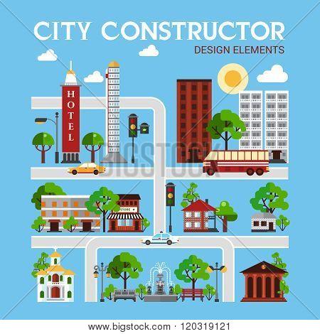City Constructor Design Elements