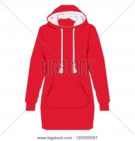 Red Hoodie Vector