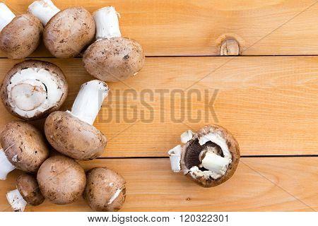 Fresh Organic Baby Bella Mushrooms