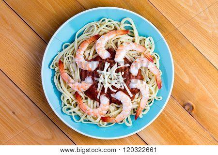 Savory Italian Seafood Pasta
