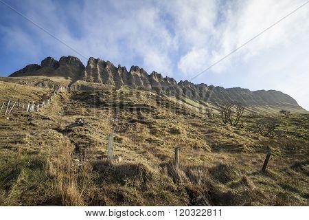 Benbulben Mountain in Ireland