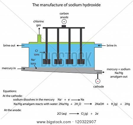 Sodium Hydroxide Manufacture In The Mercury Cell