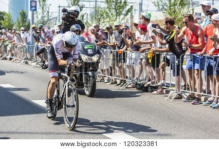 The Cyclist Bauke Mollema - Tour De France 2015