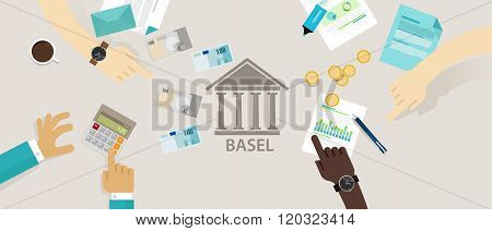 Basel accord Committee on Banking Supervision International regulatory framework for banks