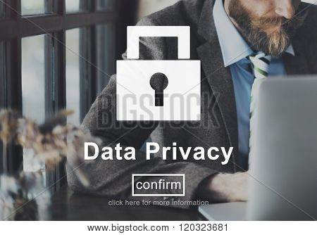 Data Privacy Protection Privacy Interface Concept