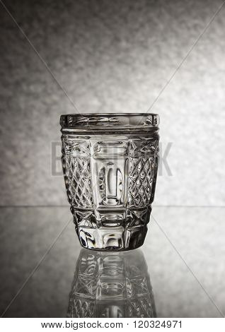 A Chrystal glass of vodka