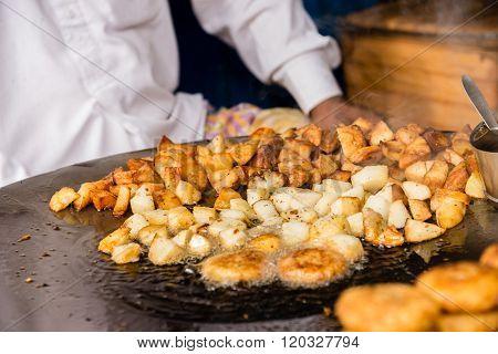 Delhi Potato Snack