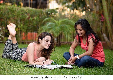 Girl Learning Classes