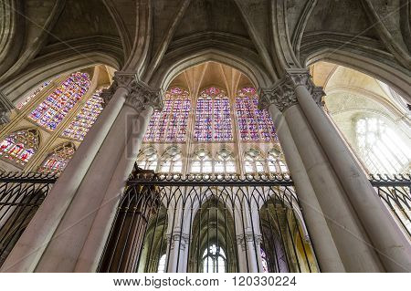 Cathedral Saint Gatien Of Tours, Loire Valley, France