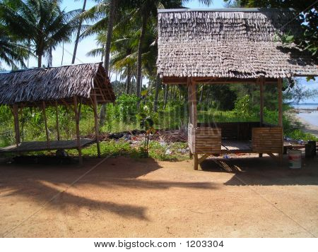 Rustic Hut At The Beach - Bintan, Indonesia