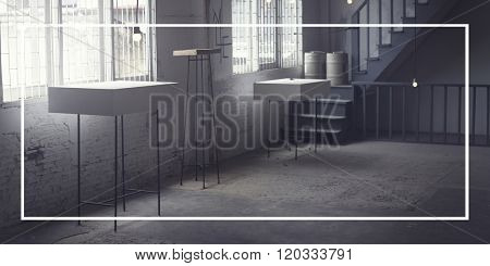 Frame Blank Advertisement Message Abstract Concept