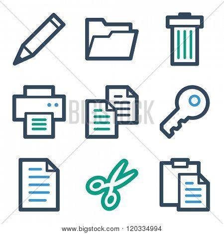 Document web icons