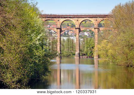 Old viaduct in Bietigheim