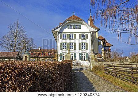Switzerland, Bern, Wittigkofen Palace