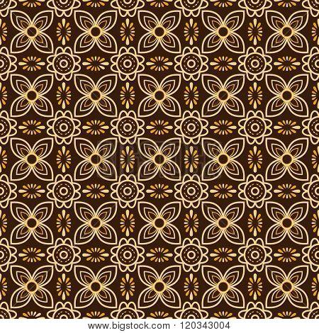 Batik Seamless Pattern