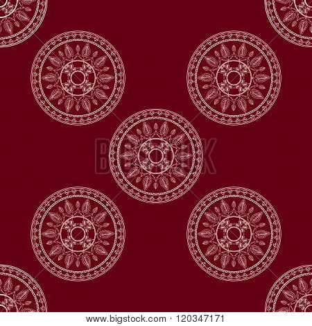 seamless decorative background, seamless ethnic background.   background in ethnic style, Indian orn