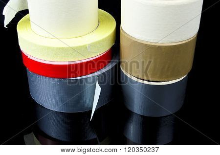 Pile Of Packing Tape..