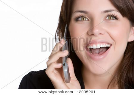 Laughing Phone Woman