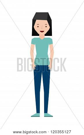 isolated person design