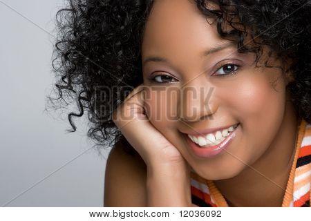 Cheerful Black Woman
