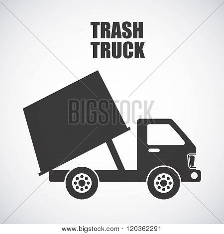 trash truck design
