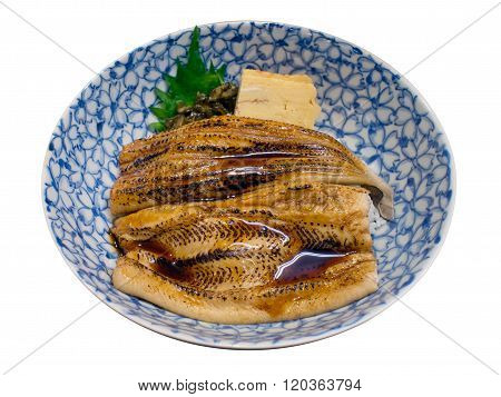 Japanese Sea Eel Rice Anago Don
