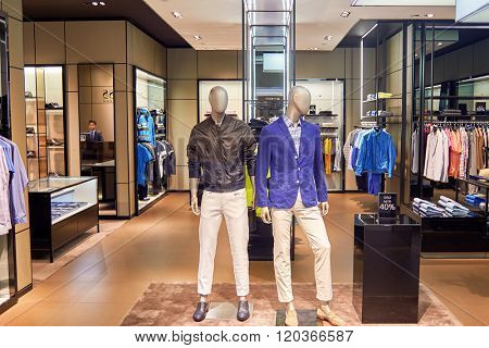 BANGKOK, THAILAND - JUNE 20, 2015: shopping center interior. Shopping centers such as Siam Paragon, Central World Plaza, Emperium, Gaysorn and Central Chidlom become shopping Mecca for shopaholics