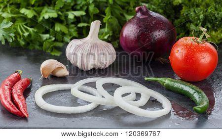 Raw Healthy Food Ingredients