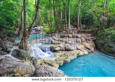 Erawan Waterfall , Kanchanaburi , Thailand
