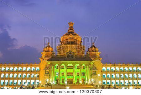 Vidhana Soudha , Bangalore , India